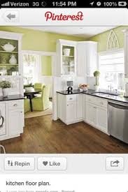 Small Kitchen Floor Plans by Bungalow Floor Plan Open Wall Between Kitchen And Dining House