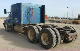 kenworth chassis 1993 kenworth t600 semi truck item f3454 sold february