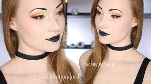 easy candy corn inspired makeup tutorial halloween 2016 youtube