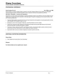 helicopter maintenance engineer sample resume resume cv cover