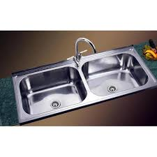 double bowl kitchen sink double bowl kitchen sink at rs 8000 piece double bowl sink id