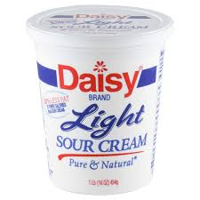 light sour cream nutrition daisy light sour cream calories nutrition analysis more