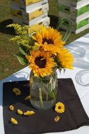 wedding flowers sunflowers pin by debbie messer on baby shower sunflowers