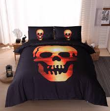 online get cheap skull print bedding aliexpress com alibaba group