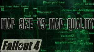 Map Of Fallout 3 by Fallout 4 Map Size Vs Map Quality Fo4 Discussion Youtube