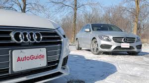 2017 audi a4 vs 2017 mercedes benz c300 autoguide com news