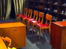 an orange moon heywood wakefield dining set