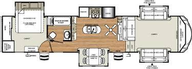 Fifth Wheel Floor Plans Front Living Room Sierra 377flik Front Living Island Kitchen Fifth Wheel