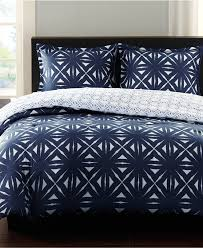 Echo Bedding Sets Echo Lattice Geo Colony Blue Comforter Mini Sets Bedding
