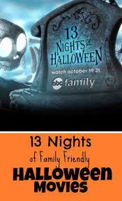 abc 13 nights of family friendly halloween movies schedule