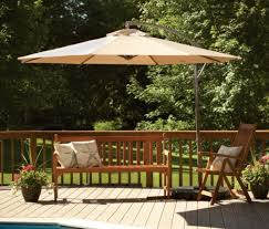 best solar lights for shaded areas interesting white rectangular patio umbrella with solar lights and