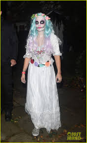 lily halloween costume ellie goulding u0026 lily allen celebrate halloween at jonathan ross