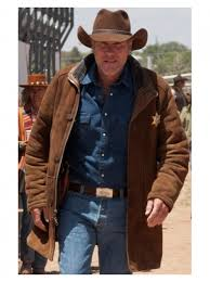 Leather Barn Coat Robert Taylor Longmire Coat Sheriff Walt Coat