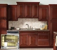 Kitchen Cabinet Renewal Enhance Cabinet Renewal Cost N Wood Refinishing Kitchen Design