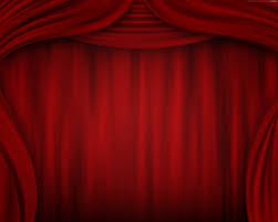 red curtain background theatre stage psdgraphics