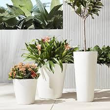 32 best white plant pots images on pinterest modern planters