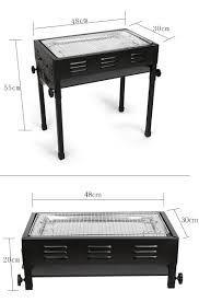premium stainless steel portable large japanese style stove bbq