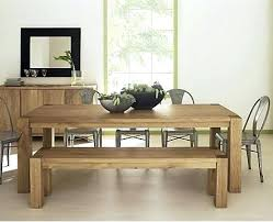 White Dining Room Bench by Dining Table Dining Room Glass Countertop Dining Table With 2