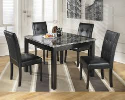 Dining Room  Attractive White Kitchen Table And Chairs With Round - Granite dining room tables and chairs