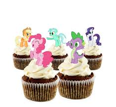 my pony cupcake toppers printable my pony cupcake toppers print instantly