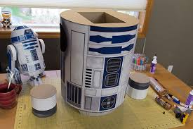 r2 d2 ae2 life size papercraft droid