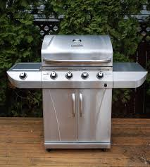backyard grill 4 burner bbq love a review of char broils 4 burner stainless grill from
