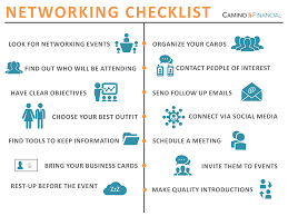 what to do before and after a networking event