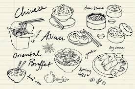jeux de cuisine chinoise jeu de cuisine chinoise image vectorielle omw 48661889