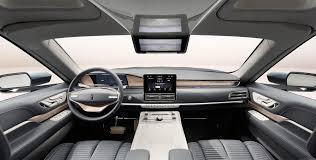 range rover concept interior 2018 lincoln navigator concept an outrageous suv with supercar