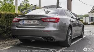 maserati quattroporte 2017 grey maserati quattroporte s q4 granlusso 6 may 2017 autogespot