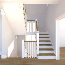 Stair Elements by Renovation In Brighton England Michael Dant Architect