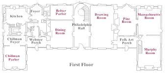bayou bend collection floor plan