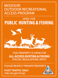 Kansas Walk In Hunting Map Public Users Missouri Department Of Conservation