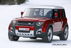 new land rover defender concept concept flashback 2011 land rover dc100 in 5 colors and 67 photos