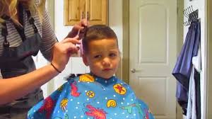 2 year hair cut how to cut little boy haircut youtube