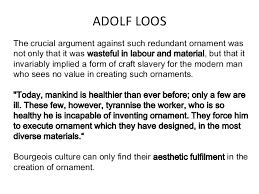 adolf loos ornament and crime linuxteam