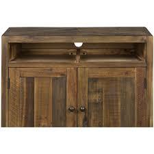 magnussen b2375 river ridge wood door nightstand with casters