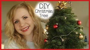 diy december small decorative christmas tree youtube