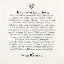 True Love Lost Quotes by If You Ever Fall In Love By Unknown Author Various Sayings