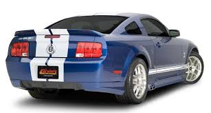 2009 ford mustang accessories 2007 2009 shelby gt500 side exhaust kit 8036 1 290 00