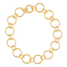 long gold link necklace images Peter thomas roth ribbon and reed heritage mixed link necklace in jpg