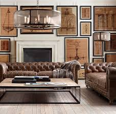 Restoration Hardware Leather Sofas How To Find The Leather Sofa Emily Henderson