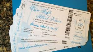 Boarding Pass Wedding Invitations My Diy Boarding Pass Invitations Cruise Wedding Wedding