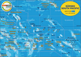 Map Of Tahiti Map Of South Pacific Several States Map In The Atlas Of The