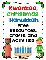 lmn tree kwanzaa christmas and hanukkah free resources crafts