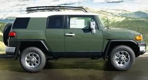 army green 2012 fj cruiser paint cross reference
