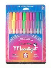 sakura gelly roll moonlight pen set 10 colors 38176 ebay