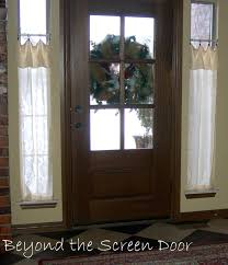 Curtain Ideas For Front Doors by Front Door Curtain Ideas Uk Ldnmen Com