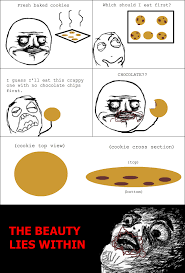 Meme Comic Tumblr - le fresh baked cookies le rage comics