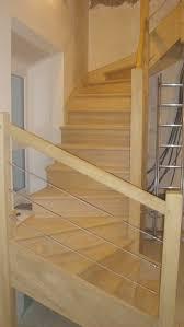 garde corps bois escalier interieur escaliers seigneury et fils
